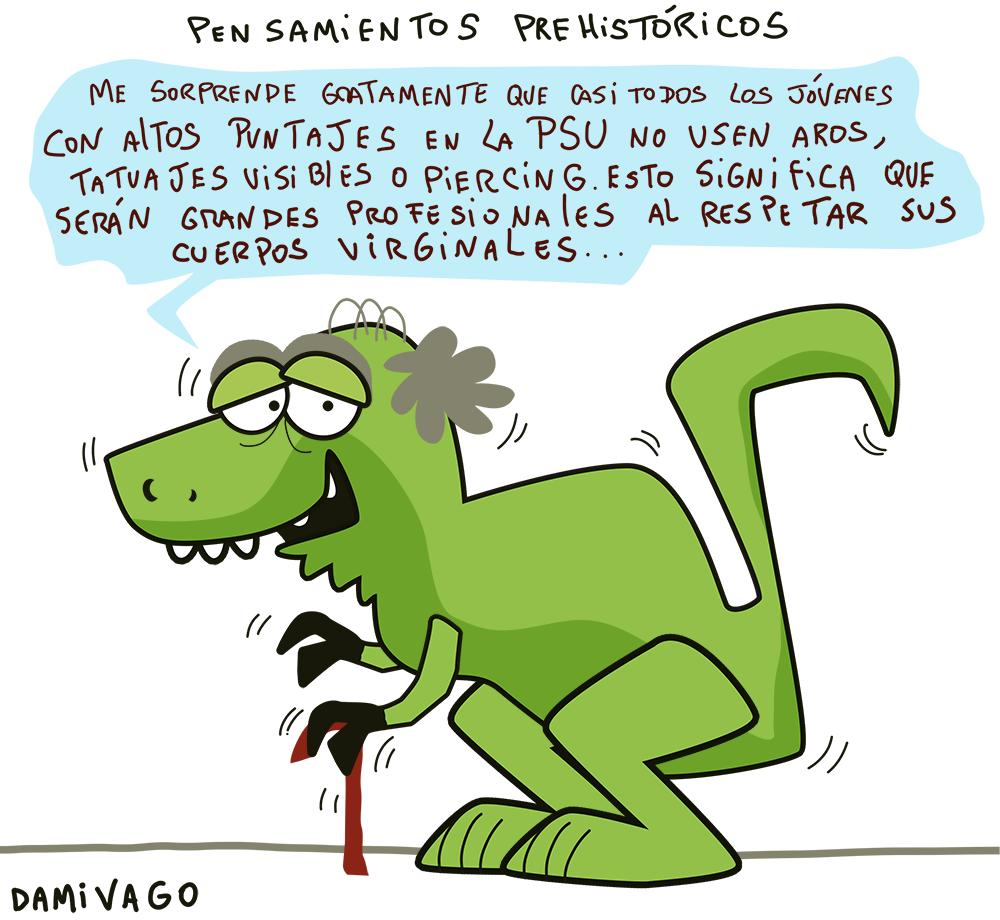 "Damivago Nº 698: Sobre la Carta ""Prehistórica"""