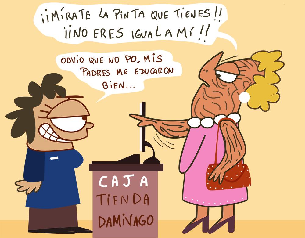 Damivago Nº 702: Clasista