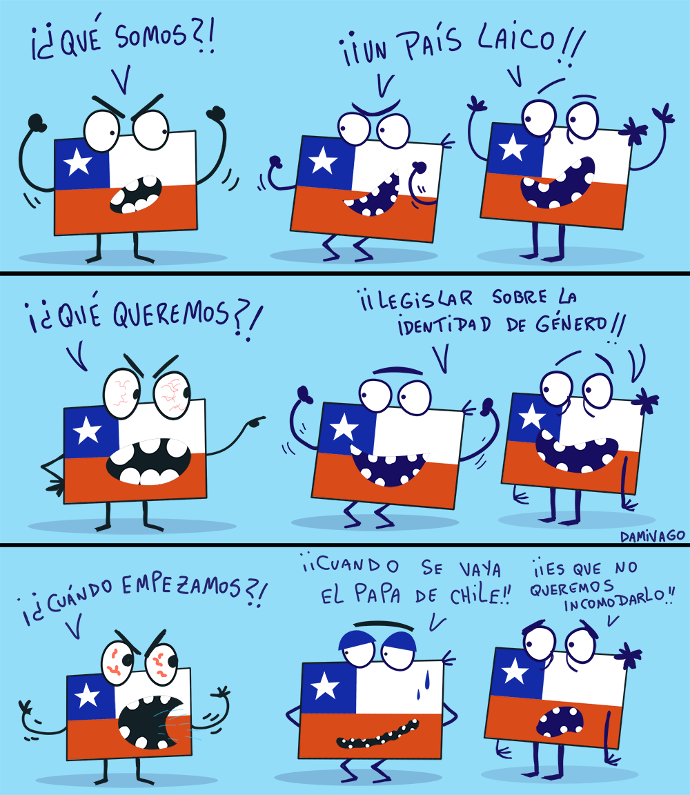 Damivago Nº707: Chile Laico
