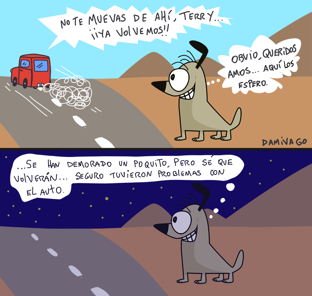Damivago Nº 710: Optimismo Perruno