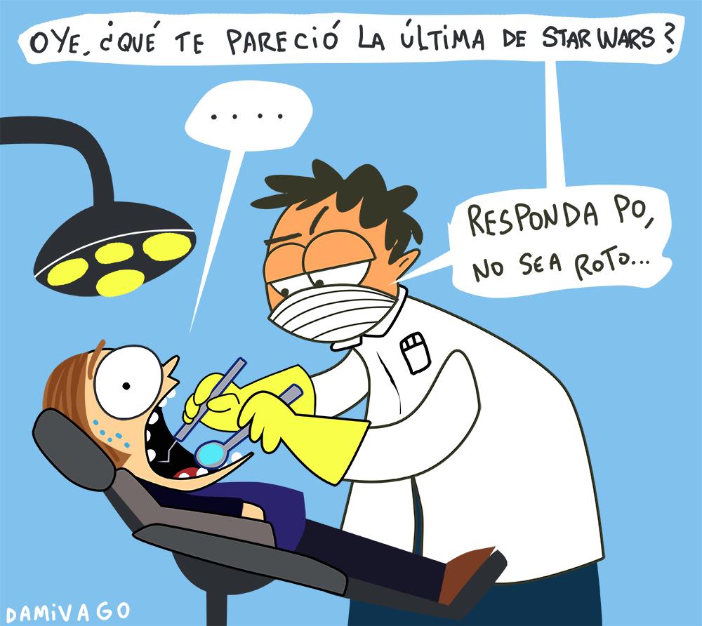 Damivago Nº 721: Visita al Dentista
