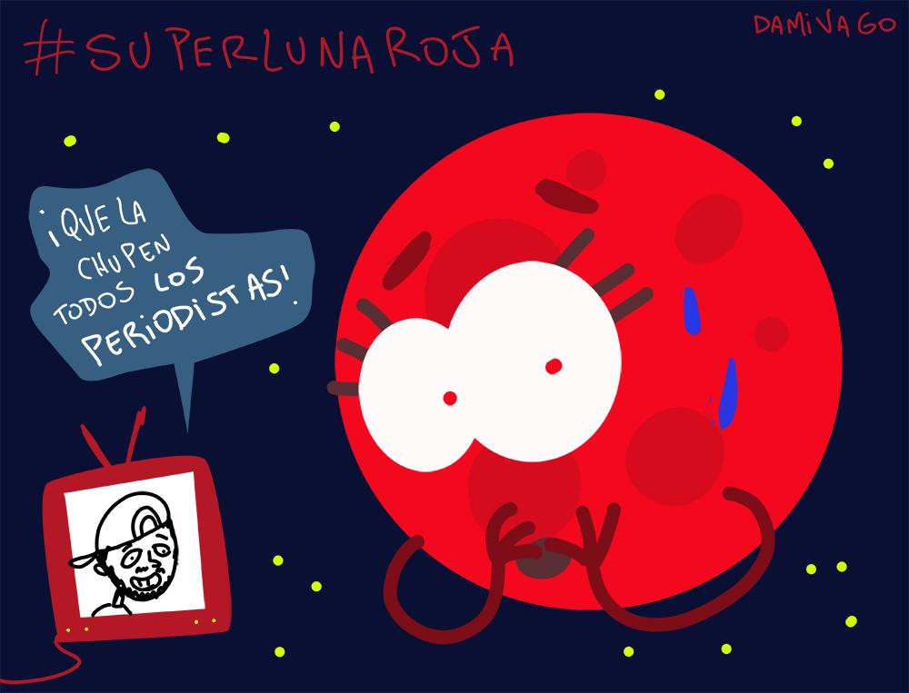 Damivago  Nº 729: SuperLuna Roja