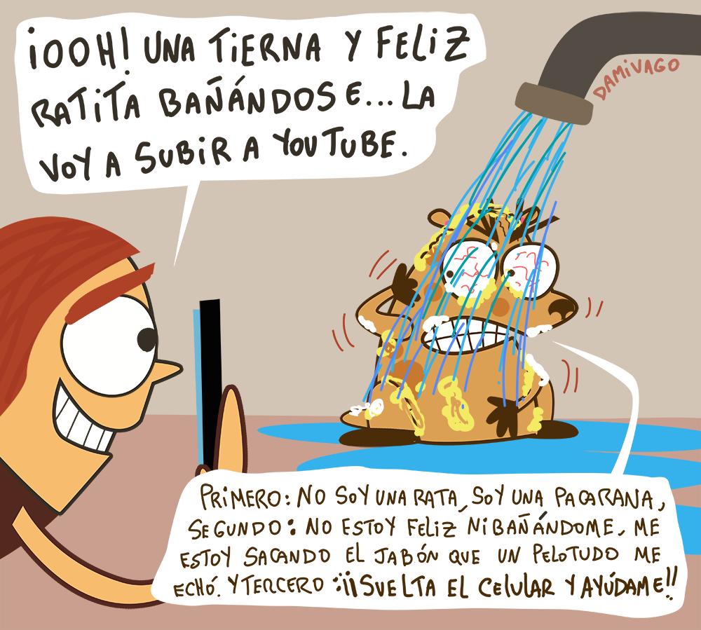 """Damivago Nº 731: Mi Versión del caso de la """"Rata"""" Bañándose"""