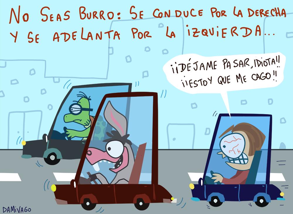 Damivago Nº 735: Campaña No seas Burro.
