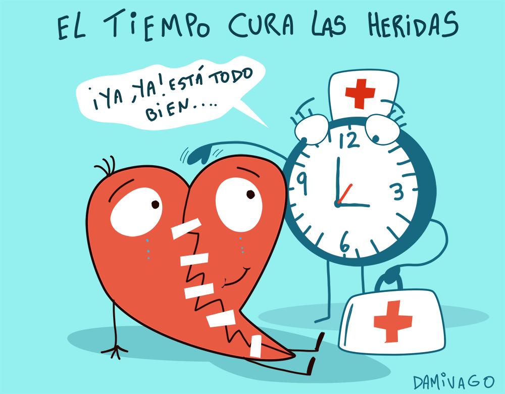 Damivago Nº 739: El Tiempo Cura las Heridas