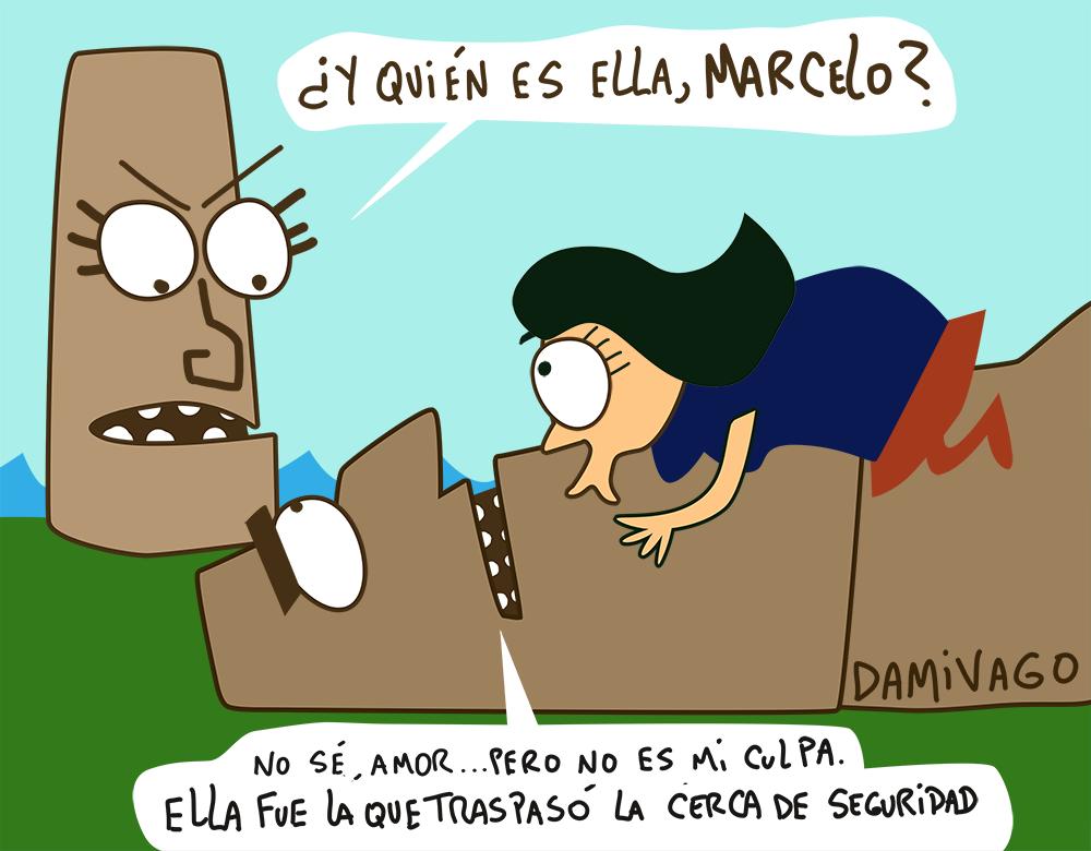Damivago Nº 745: Celos