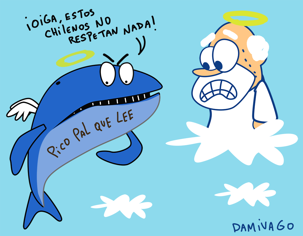 Damivago Nº 748: Caso Ballena Varada y Rayada  en Chile