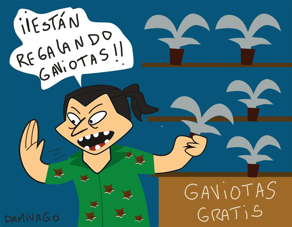 Damivago Nº 756: ¡Están Regalando Gaviotas!