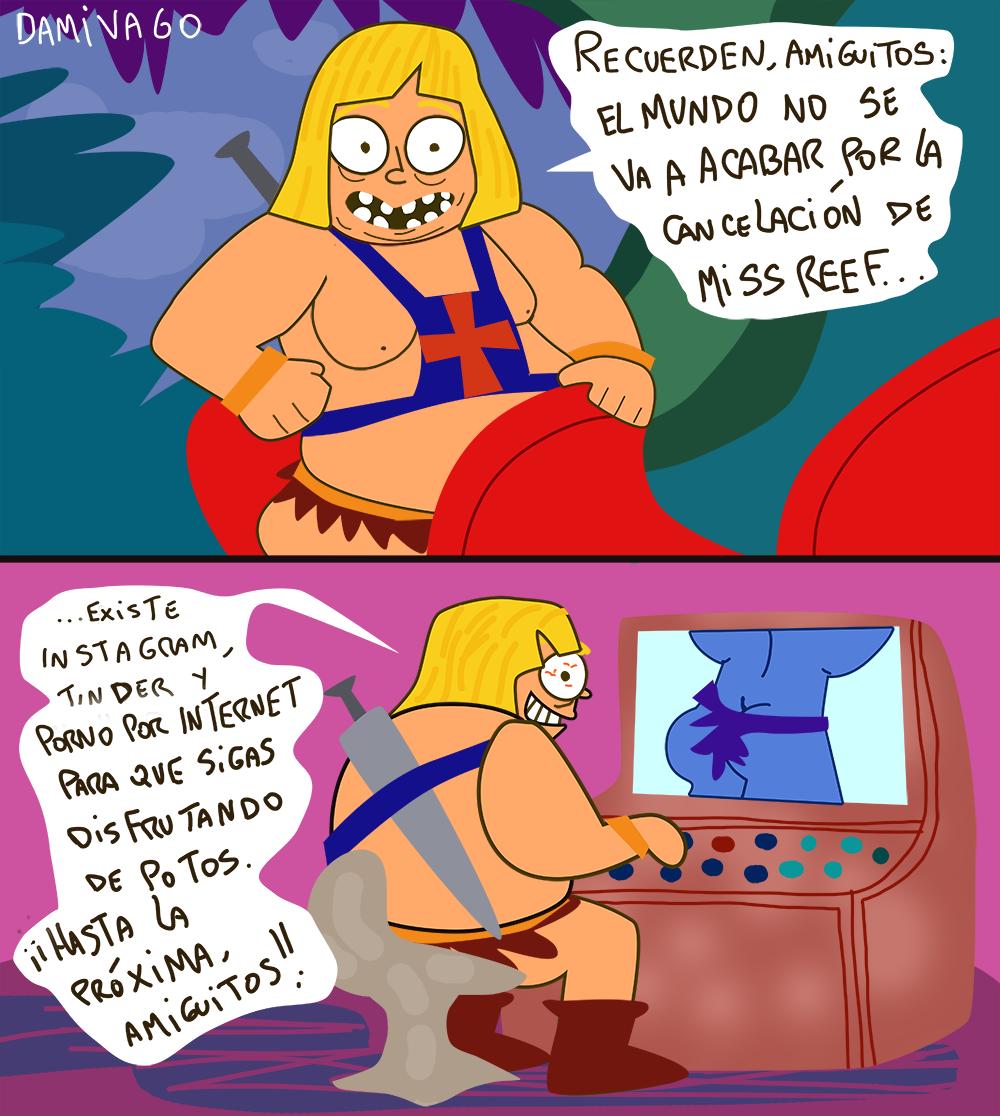 Damivago Nº 762:  Parodia Consejo de He-Man