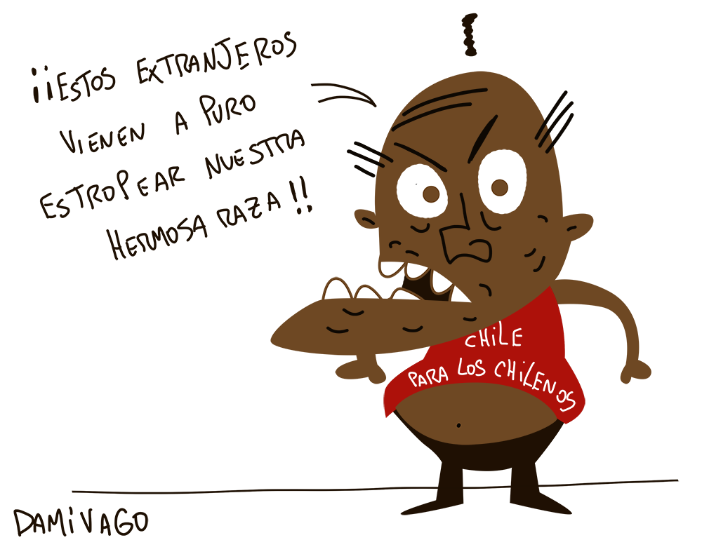 "Damivago Nº 764: ""Raza"""