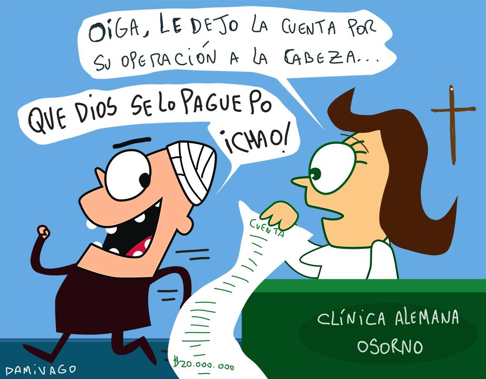 Damivago  Nº 768: El caso de Clínica en Osorno