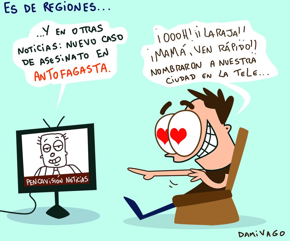 Damivago Nº 779: Es de Regiones...