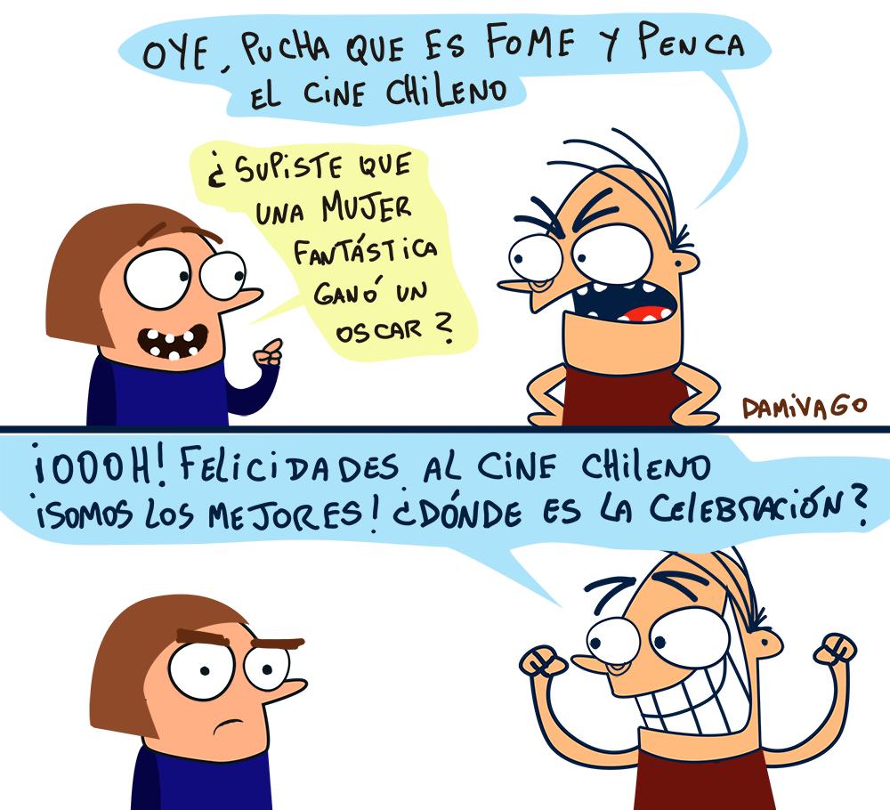 "Damivago  Nº 770 :  ""Apoyo"" al Cine Chileno"