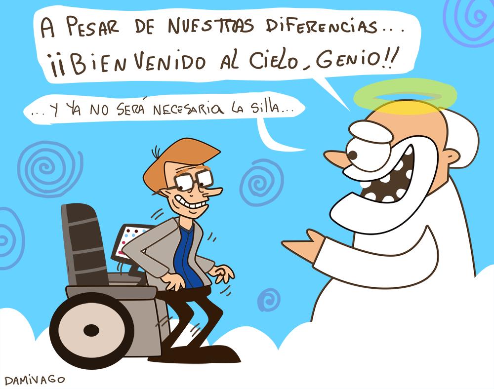 Damivago Nº 782:  Descansa en Paz, ,Stephen Hawking