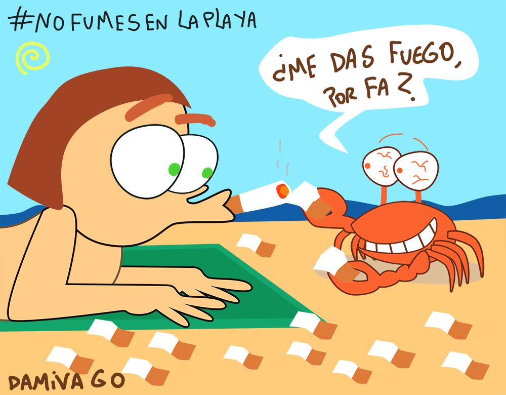 Damivago Nº 783: No Fumes en la Playa