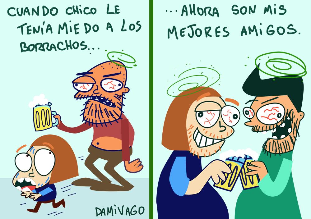 Damivago  Nº 785: Borrachos