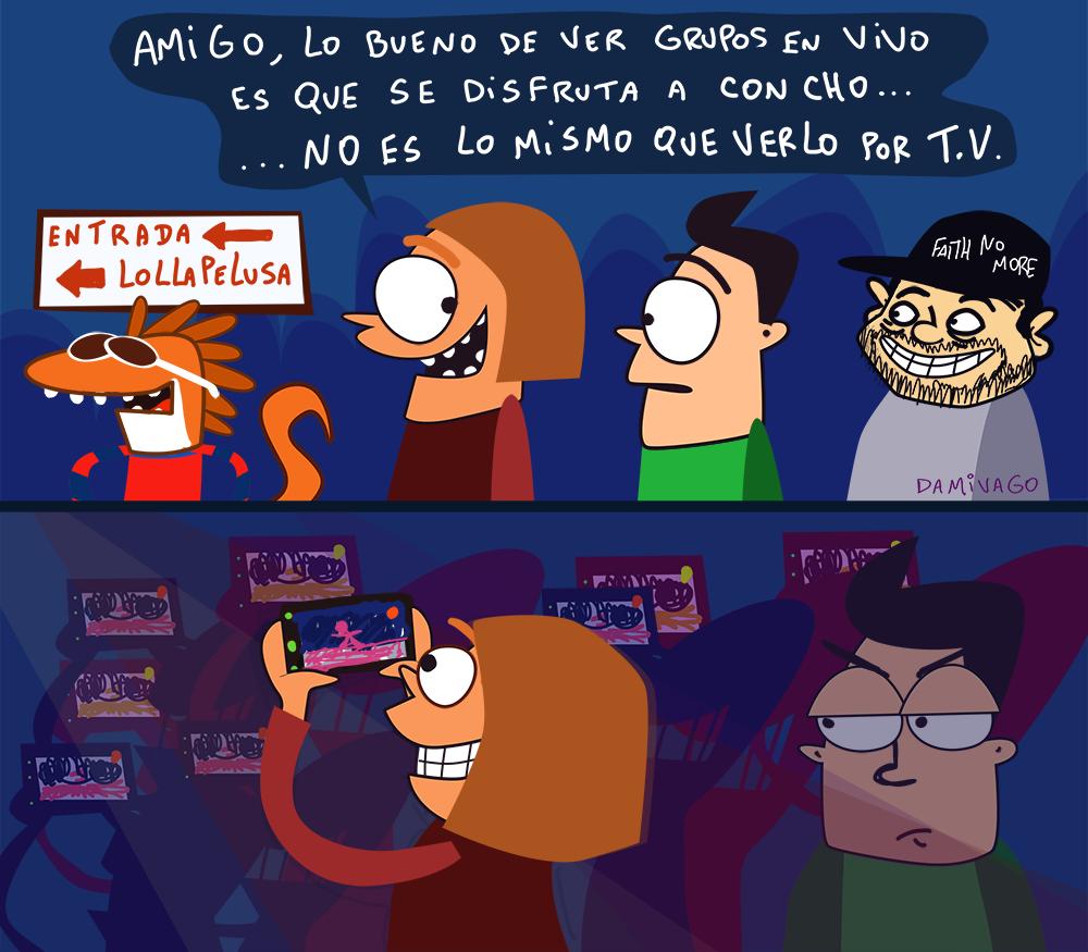 """Damivago Nº 786. """"Disfrutar"""" Conciertos"""