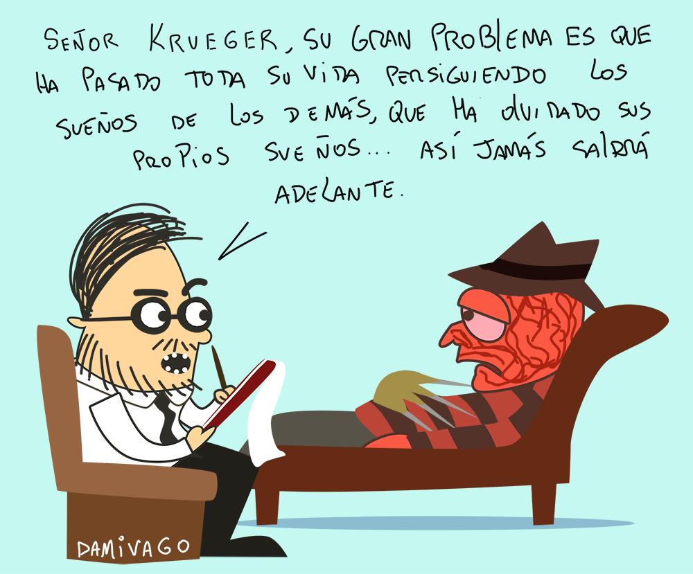 Damivago Nº 796: Freddy  Krueger Kruoger