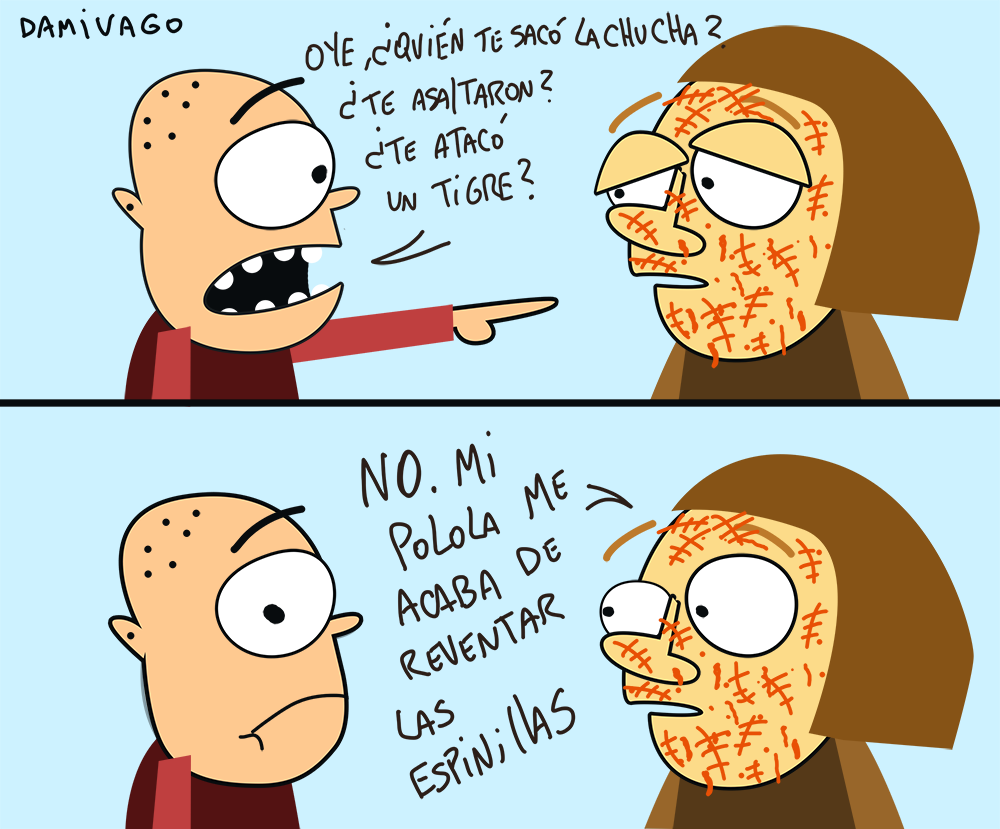 "Damivago  Nº 799: ""Ataque"""