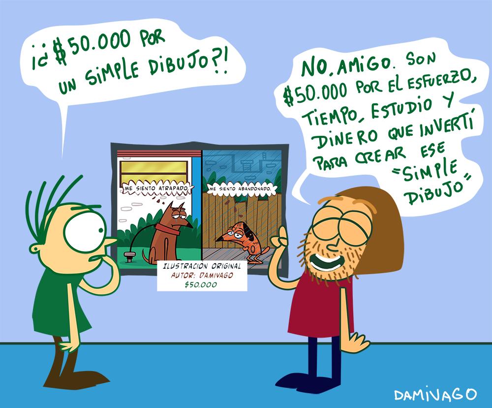 "Damivago Nº 800: ""Simple Dibujo"""