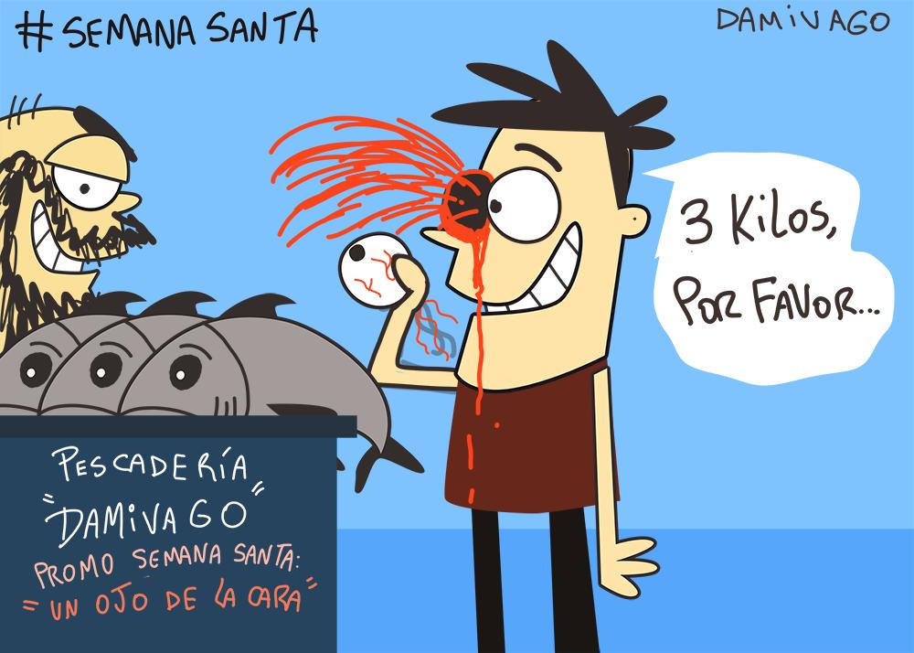 Damivago Nº 801 :Semana Santa