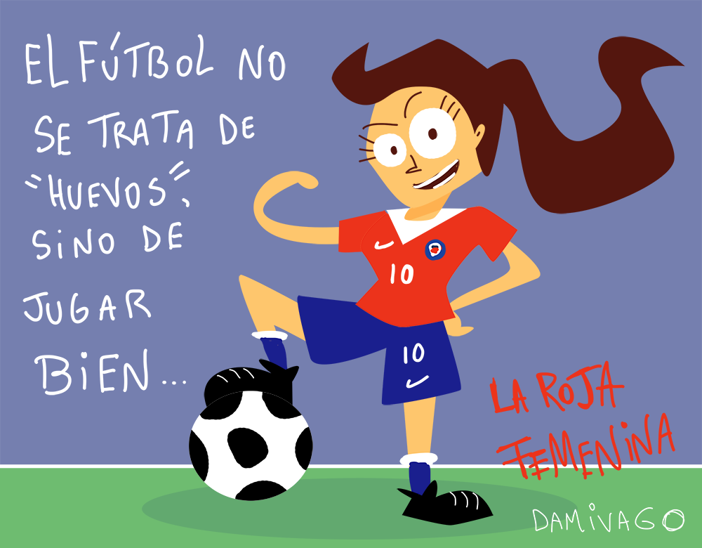 Damivago Nº 823: Homenaje a la Roja Femenina