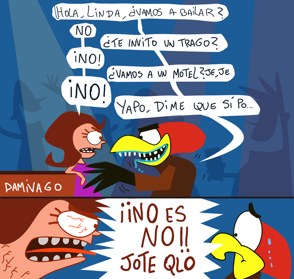 Damivago Nº 831: No es No