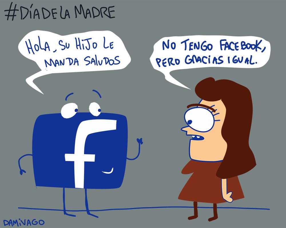 Damivago Nº 839: Día de La Madre en Facebook