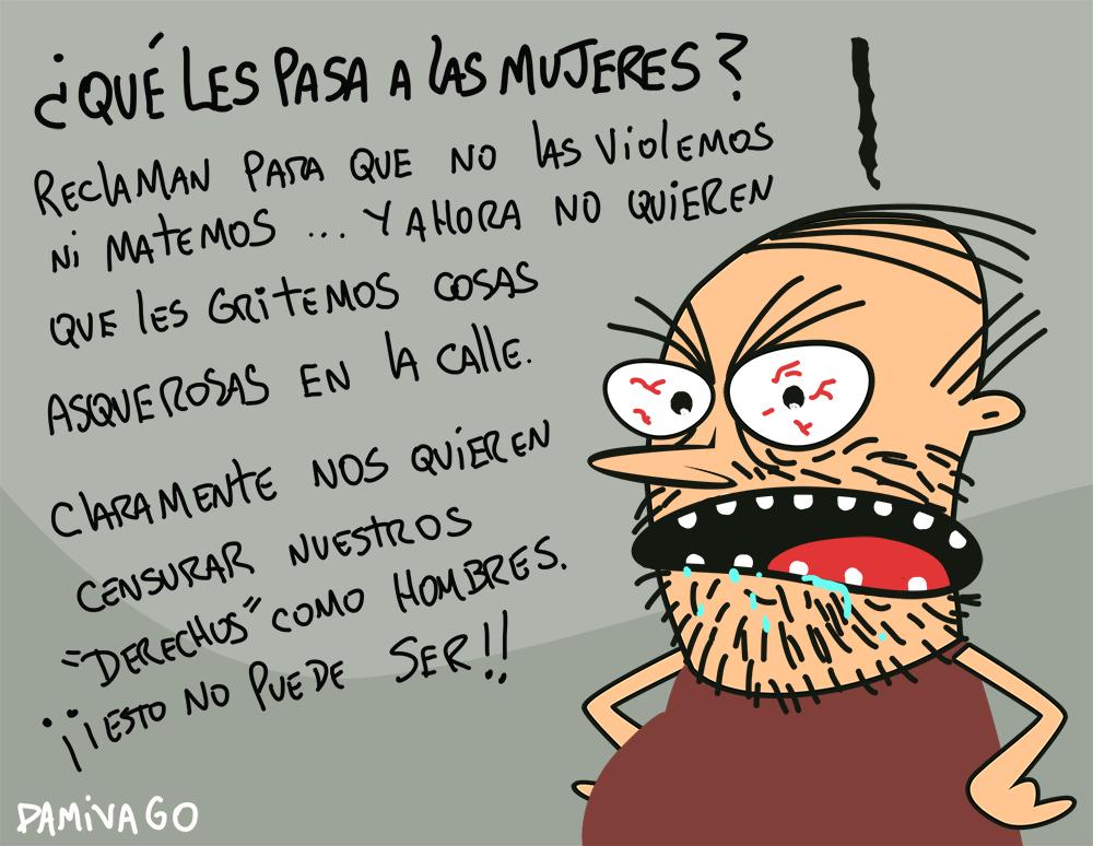 """Damivago Nº 844:  """"Derechos"""" (Mundo al revés)"""