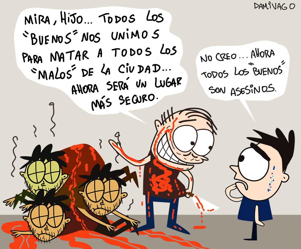 """Damivago Nº 869:  Los """"Buenos"""""""