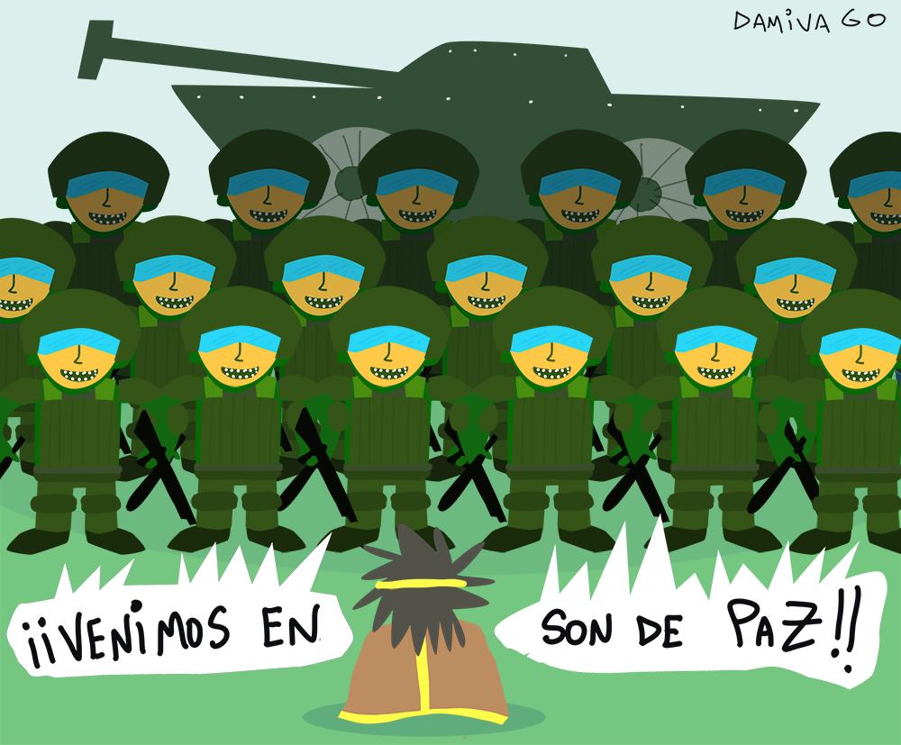 """Damivago Nº 873: """"Paz"""""""
