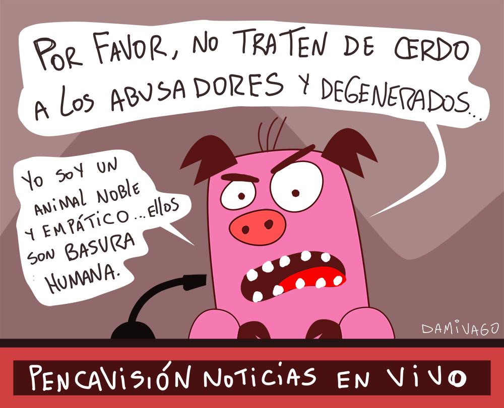 Damivago Nº 878: Cerdo
