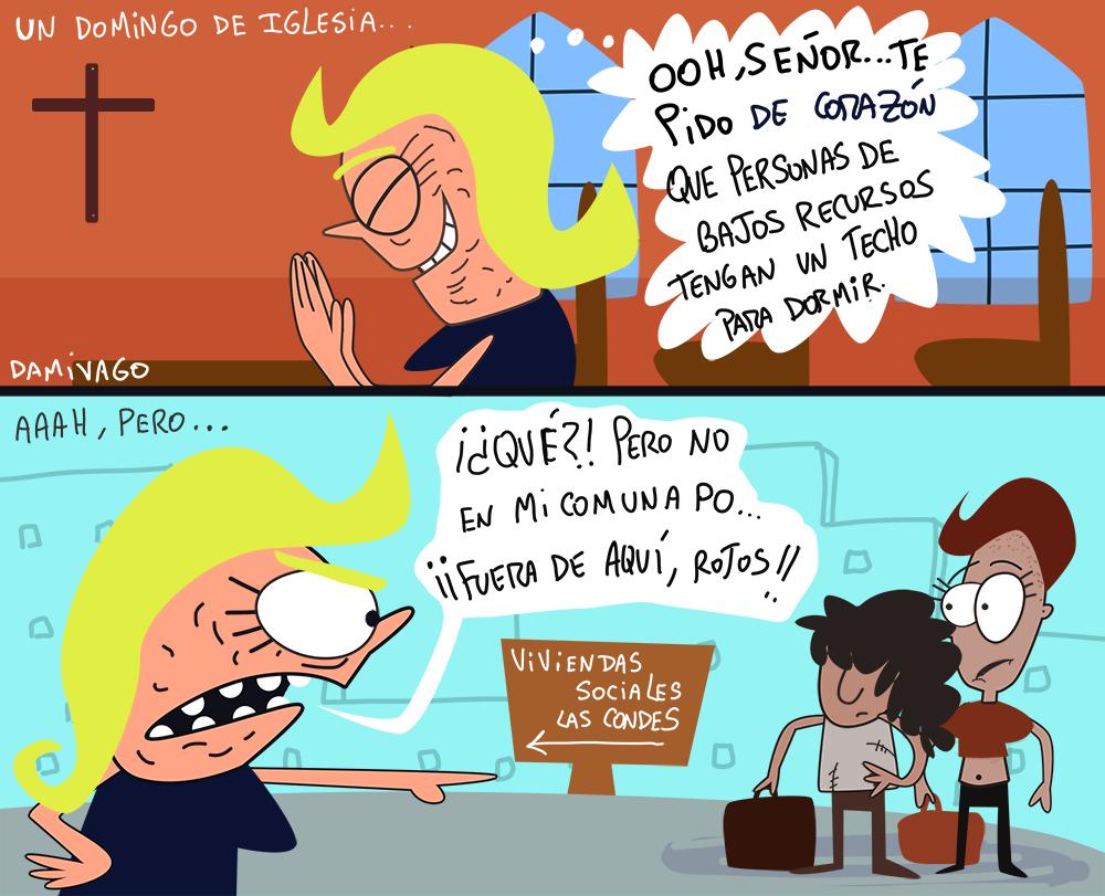Damivago Nº 884: Hipócritas de Iglesias