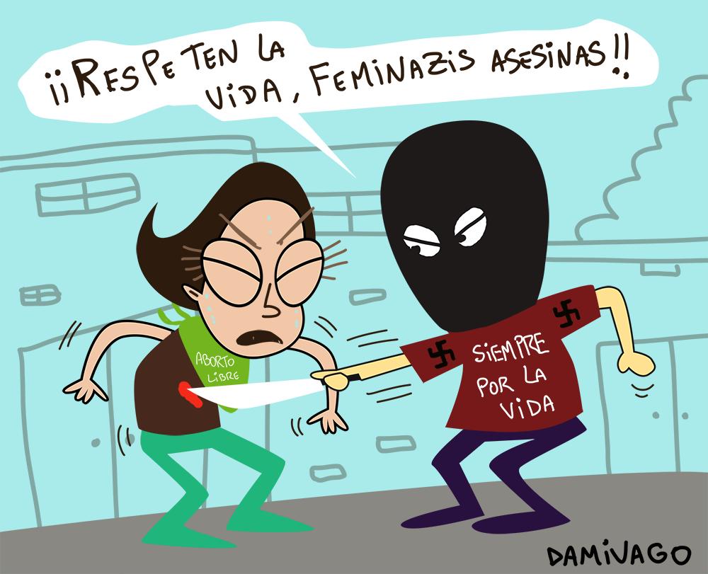 """Damivago Nº 905: """"Defensores"""" de la Vida"""