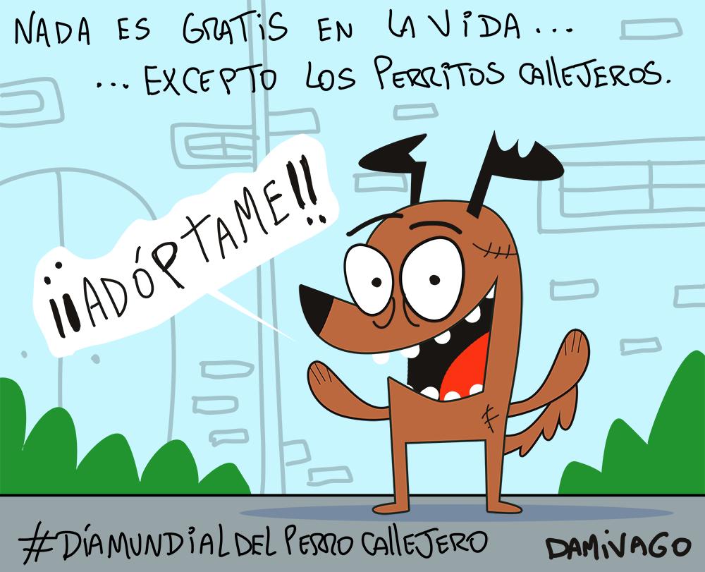 Damivago Nº 907: Día Mundial del Perro Callejero