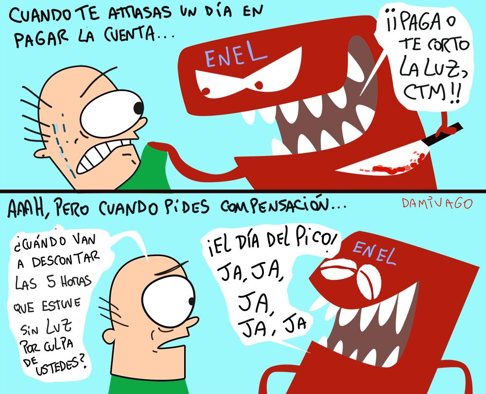 Damivago Nº 910: Luz