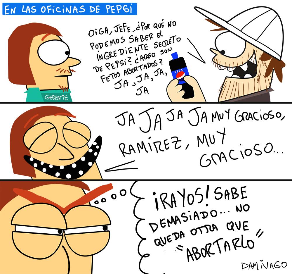 Damivago Nº 921: El Secreto de Pepsi