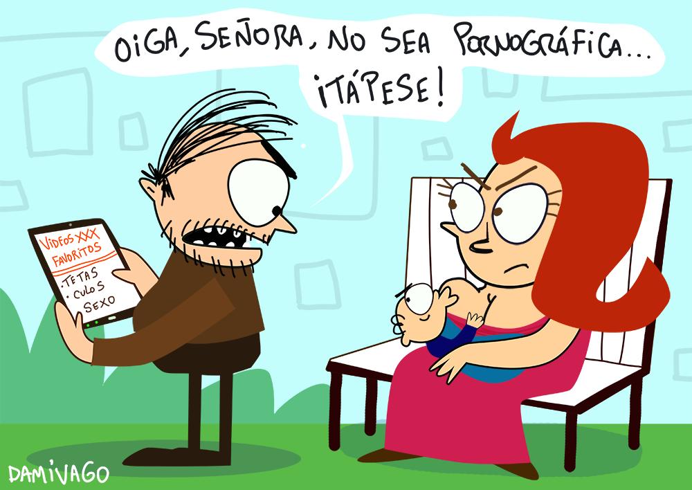 """Damivago Nº 937: """"Pornográfica"""""""