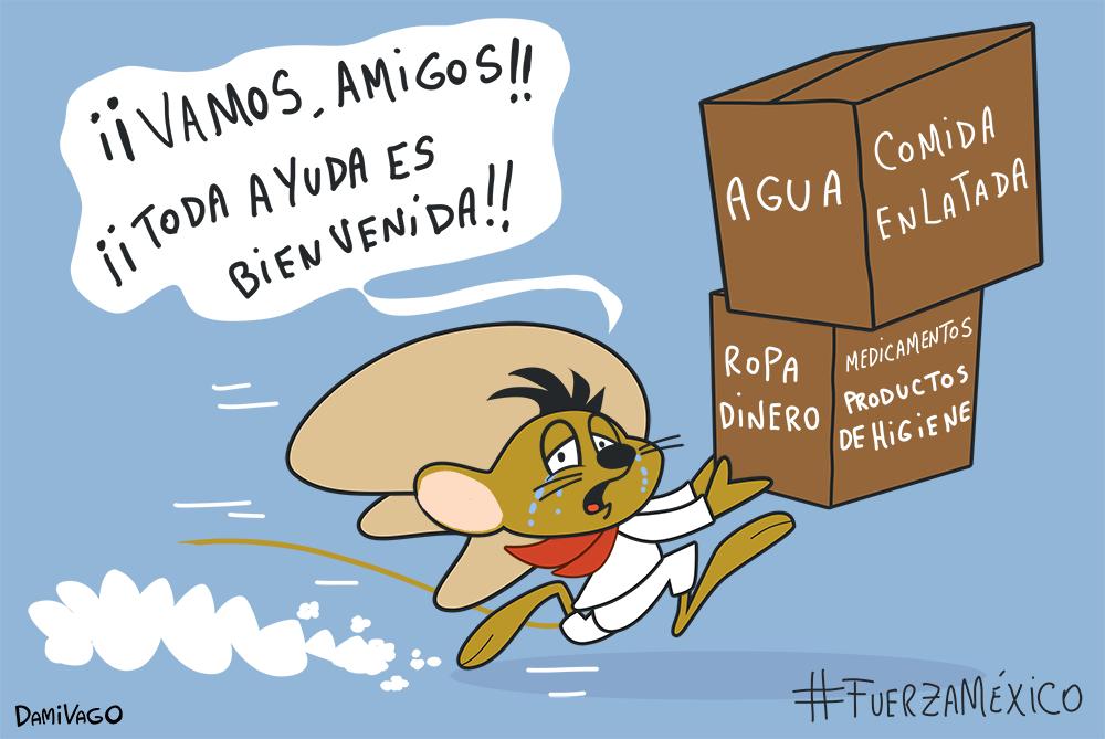 Damivago Nº 609: Apoyo a México (Fanart)