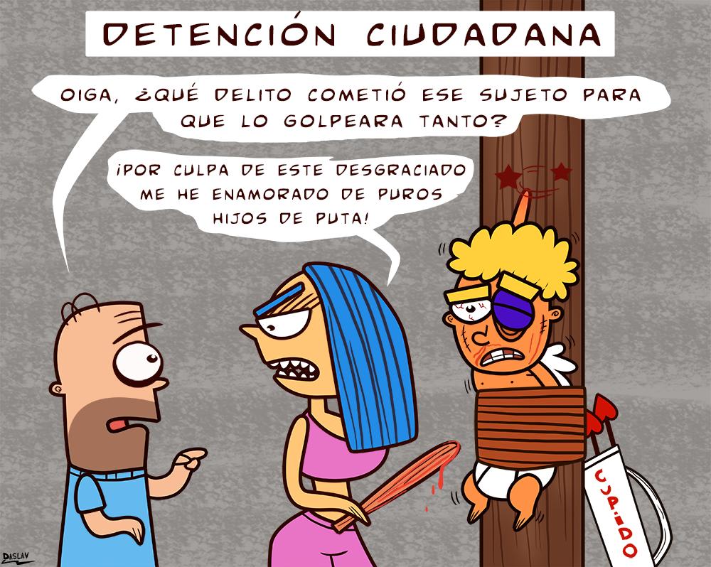 Viñeta: Detención Ciudadana 2