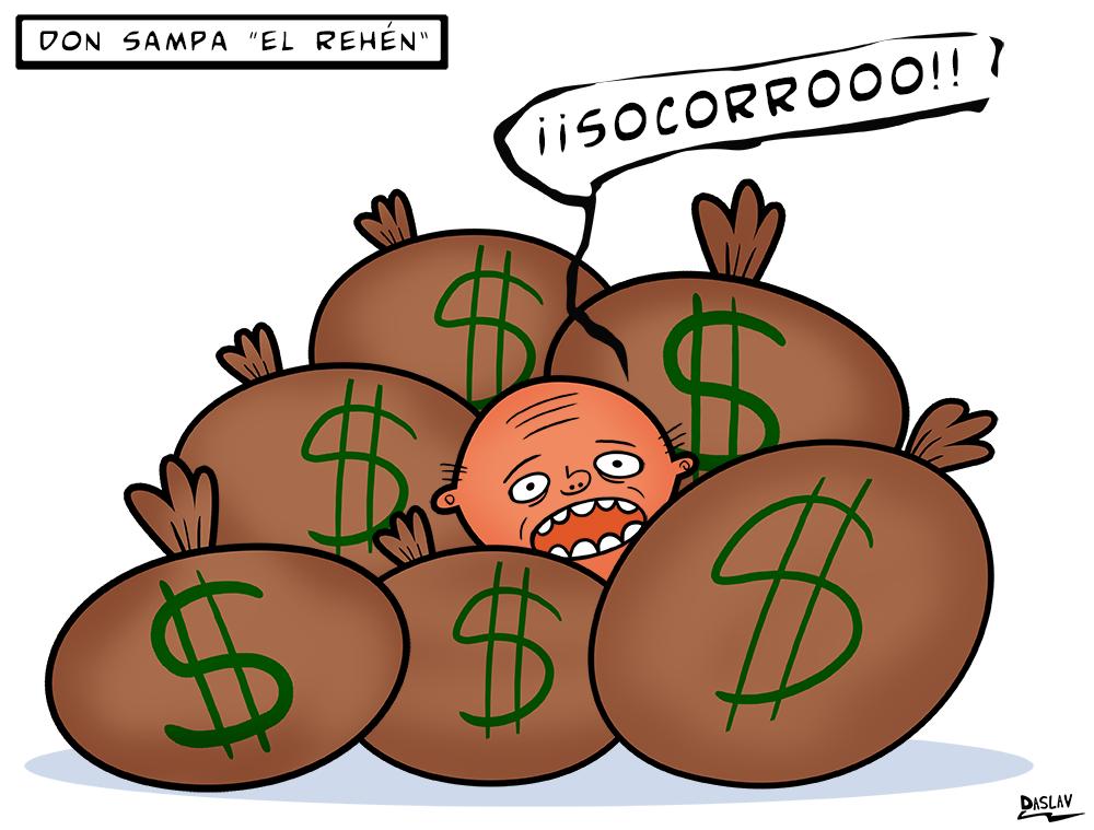 "Don Sampa ""El Rehén"