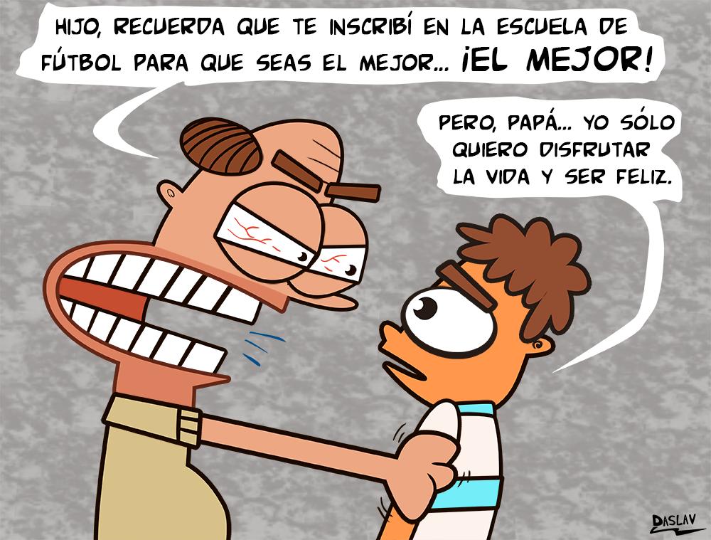 Viñeta: Presión de Padres