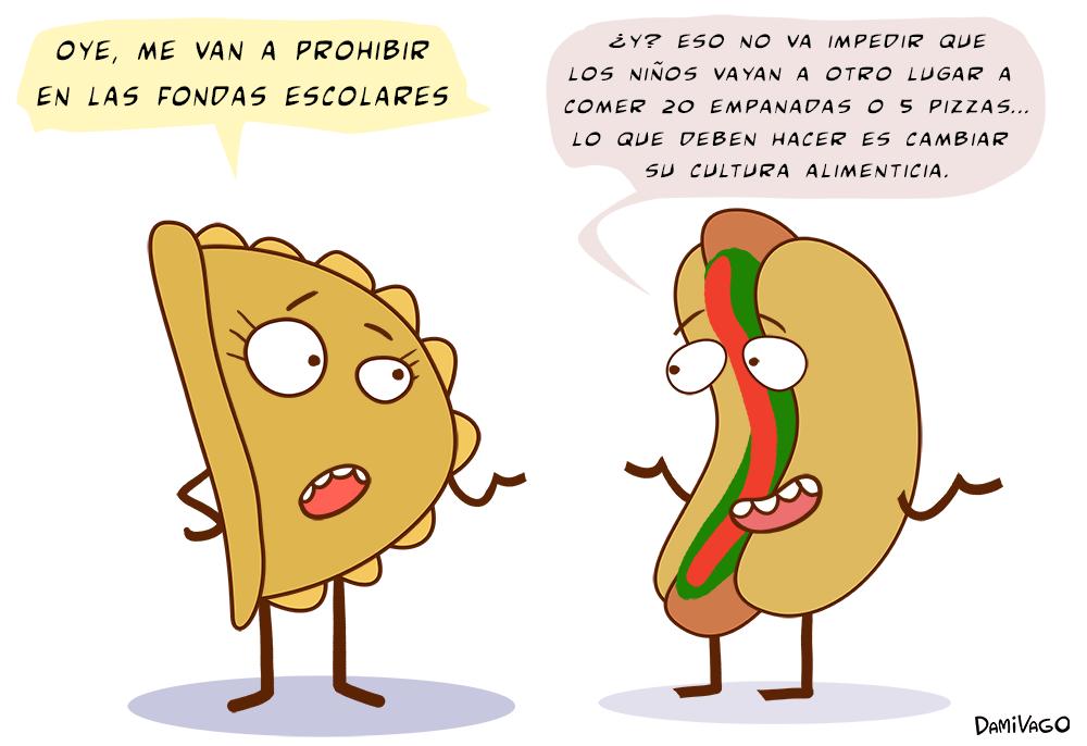 Damivago Nº 295: Empanada