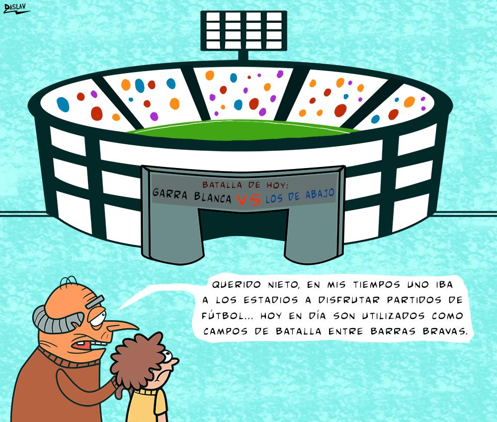 Viñeta: Estadios