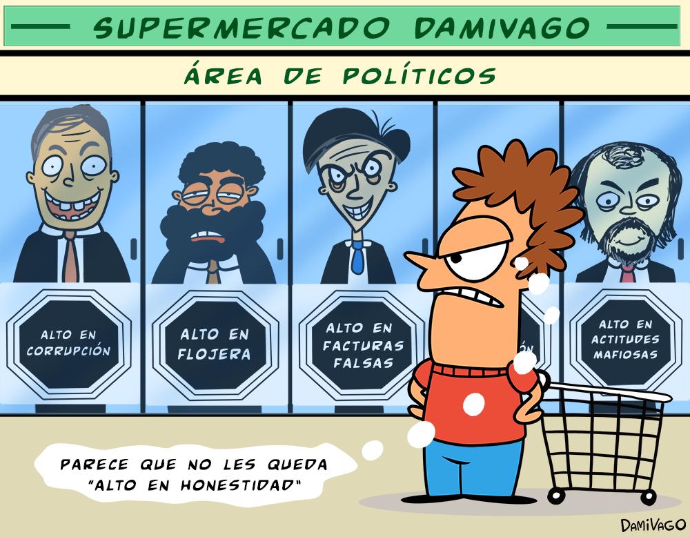 Viñeta: Etiquetado Politico