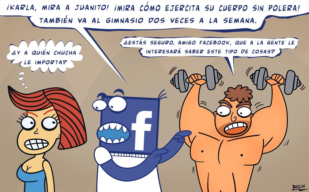 Damivago Nº 413: Estado de Facebook