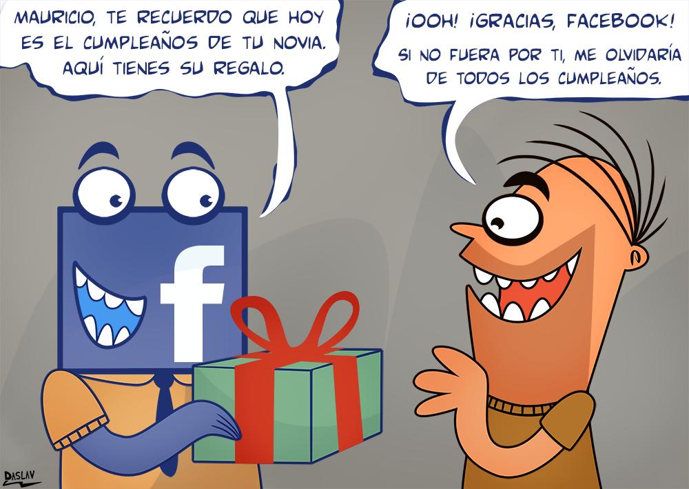 Facebook, el recuerda cumpleaños