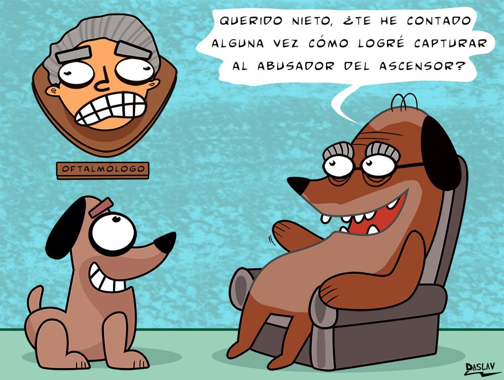 Nueva Viñeta: Caso Oftalmólogo Abusivo