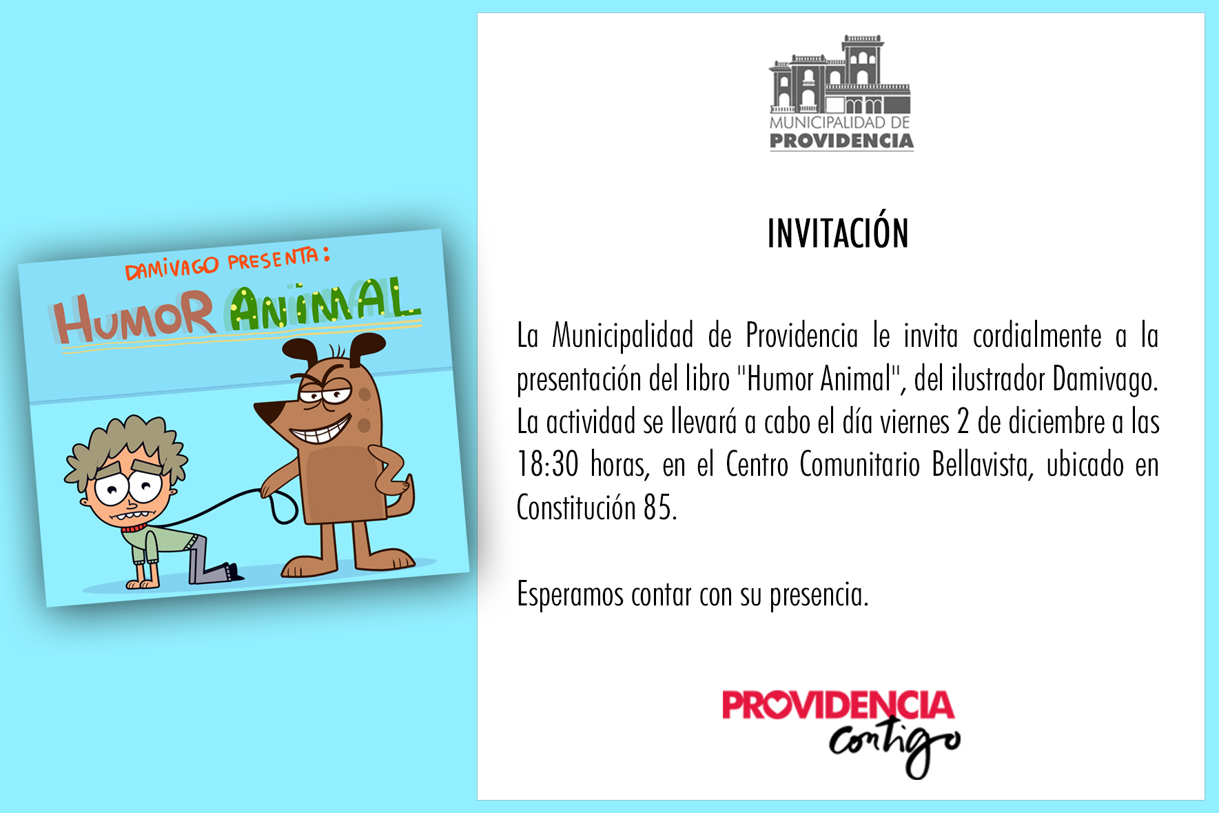 INVITACION HUMOR ANIMAL 1