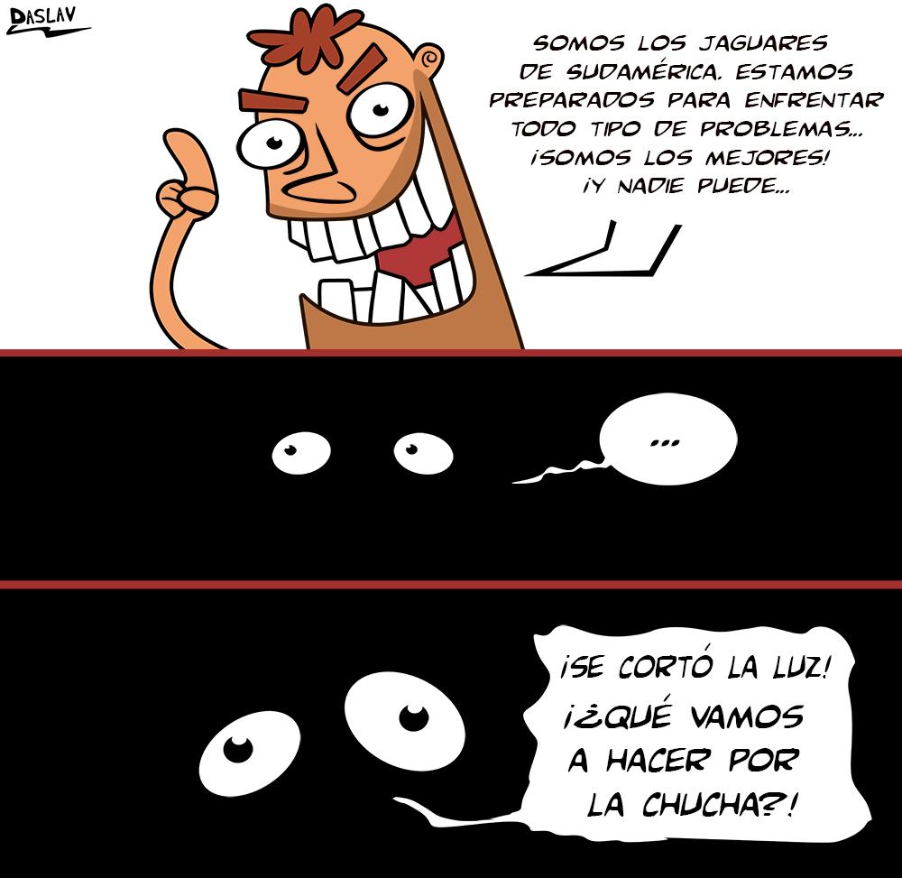 Nueva Viñeta: Típico Chileno: Jaguares de Sudamérica